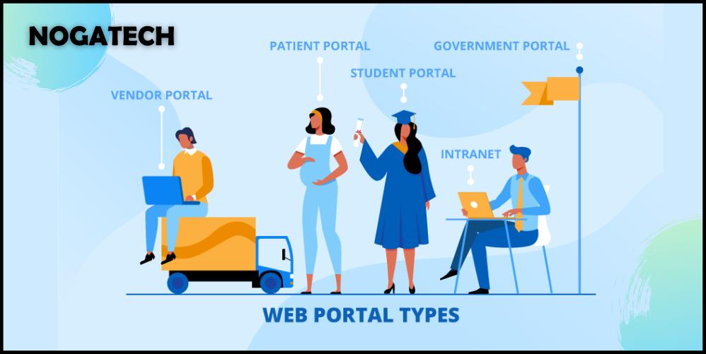 5 successful web portal examples