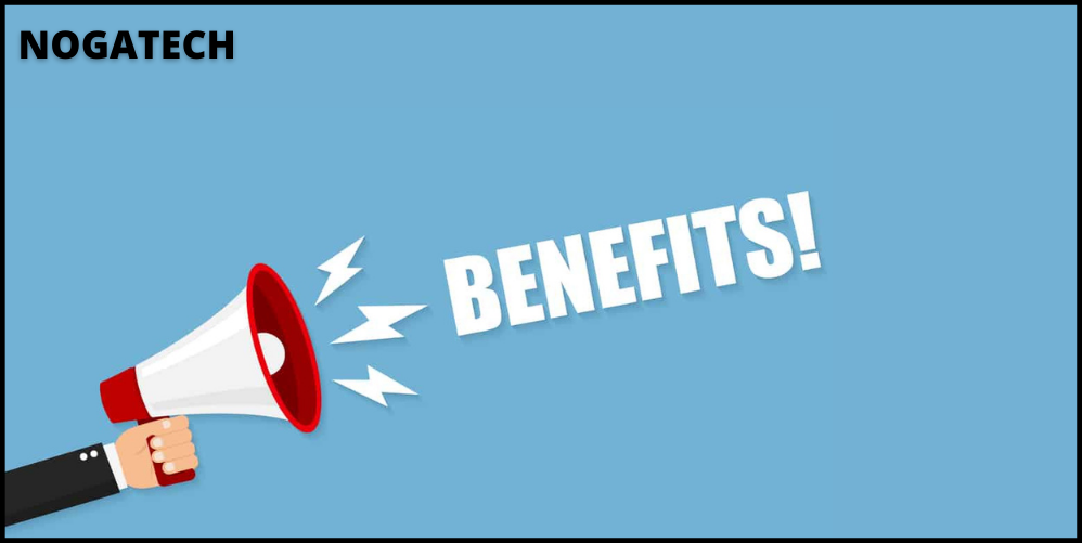 A few of these benefits are: